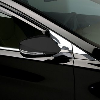 Image may not reflect your exact vehicle!Putco® - Chrome Mirror Bracket Moldings Covers