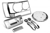 Image may not reflect your exact vehicle! PUTCO� - Chrome Accessory Kit