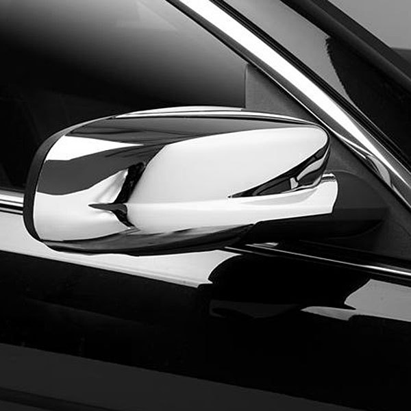 Image may not reflect your exact vehicle!Putco® - Chrome Mirror Covers