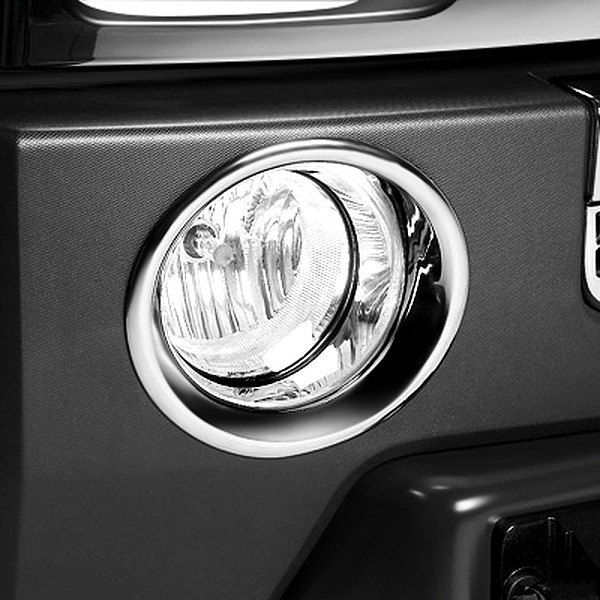 Image may not reflect your exact vehicle!Putco® - Chrome Fog Light Bezels