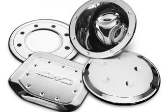 Image may not reflect your exact vehicle!Putco® - Chrome Fuel Tank Door Cover