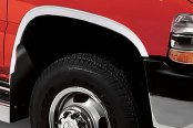 Image may not reflect your exact vehicle! Putco® - Stainless Steel Full-Length Fender Trim