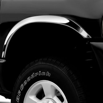 Image may not reflect your exact vehicle!Putco® - Stainless Steel Half-Length Fender Trim