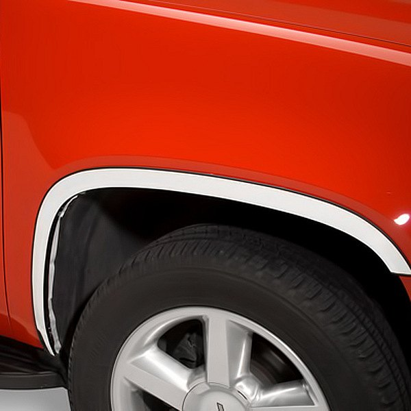 Image may not reflect your exact vehicle!Putco® - Stainless Steel Full-Length Fender Trim