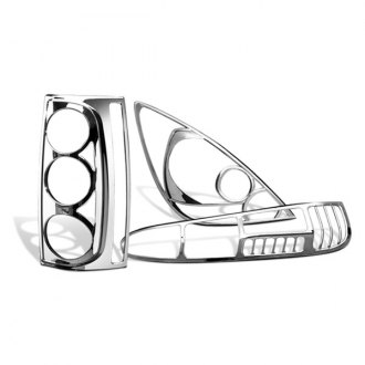 Image may not reflect your exact vehicle! Putco® - Chrome Tail Light Bezels