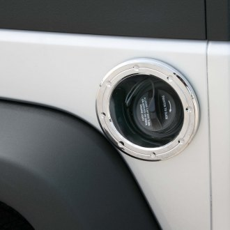 Putco® - Chrome Fuel Tank Door Cover