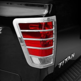 Putco® - Chrome Tail Light Bezels