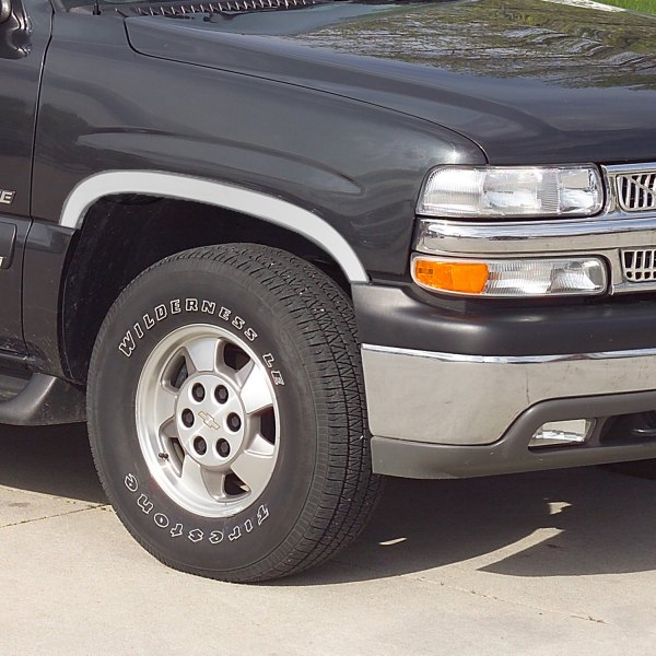Putco® - Polished Stainless Steel Fender Trim Image may not reflect your exact vehicle!