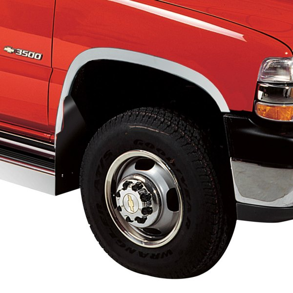 1992 Gmc Rally Wagon 1500 Exterior: Chevy Silverado 1999-2000 Polished Fender Trim