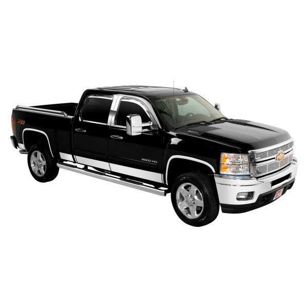 Putco® - Polished Stainless Steel Rocker Panels Image may not reflect your exact vehicle!