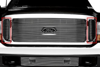 Putco® - Shadow Side Billet Grille Insert