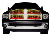 Putco® - 4-Color Flaming Inferno Grille Insert