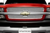 Image may not reflect your exact vehicle!Putco® - Designer FX Diamond Punch Grille