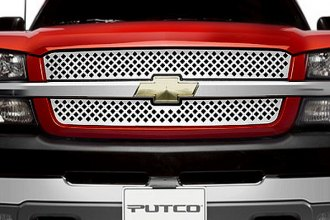 Image may not reflect your exact vehicle!Putco® - Designer FX Diamond Punch Grille Inserts