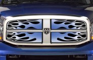 Putco® - Flaming Inferno Blue Grille
