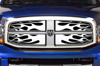 Putco® - Flaming Inferno Polished Grille Insert