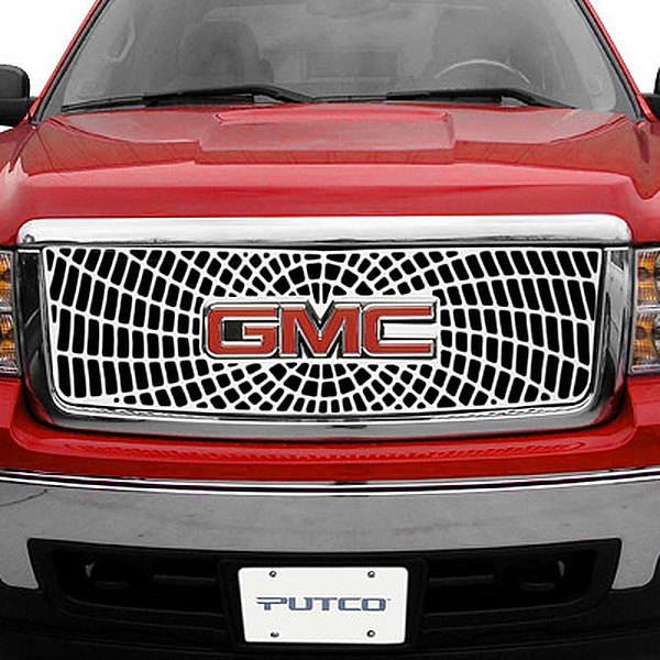 Image may not reflect your exact vehicle!Putco® - Liquid Series Spider Web Grille