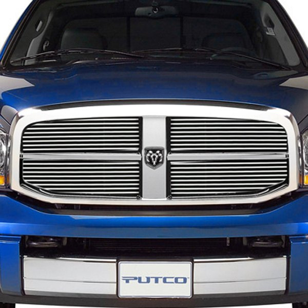 Image may not reflect your exact vehicle! Putco® - Shadow Billet Grille Insert