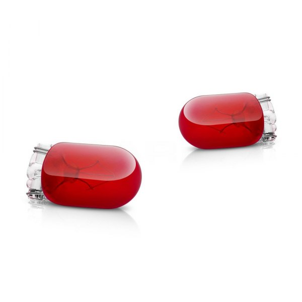 Putco® - Mini-Halogen Bulbs (194 / T10, Red)
