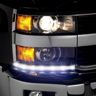 2016 chevy silverado custom led headlights. Black Bedroom Furniture Sets. Home Design Ideas