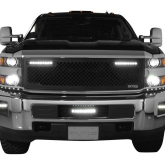 Putco® - Lighted Boss LED CNC Machined Grille