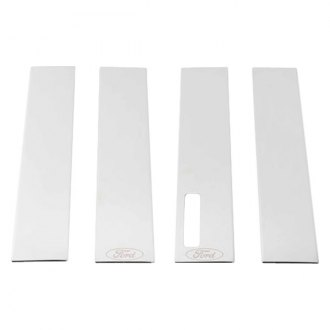 Putco® - Ford Licensed Polished Pillar Posts