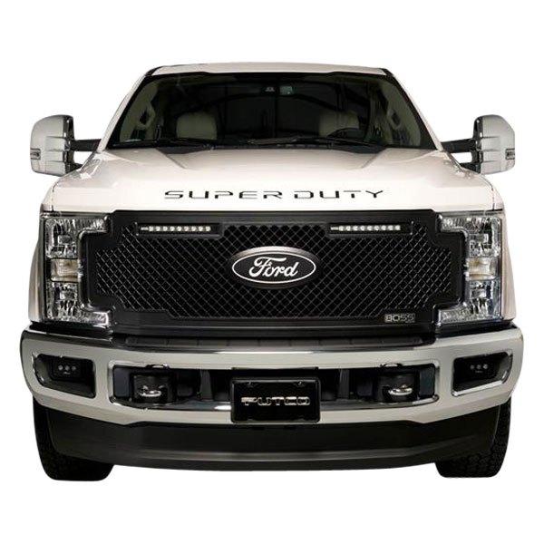 Putco Ford Licensed Black Platinum Super Duty Letters