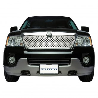 Putco® - 3-Pc Designer FX Series Polished Diamond Punch CNC Machined Main Grille