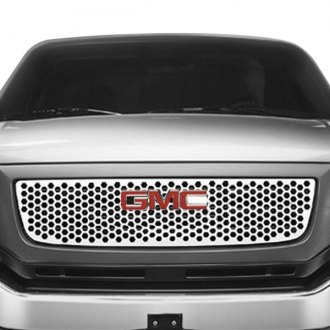 Putco® - 1-Pc Designer FX Series Polished Honeycomb Punch CNC Machined Grille