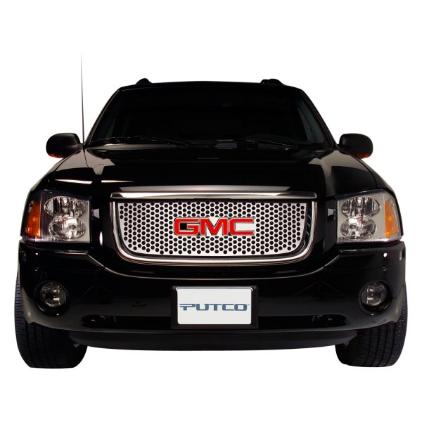 Putco® - Designer FX Series Polished Round Punch CNC Machined Main Grille