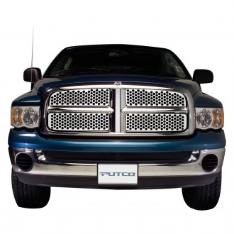 Putco® - Designer FX Series Polished Honeycomb Punch CNC Machined Main Grille