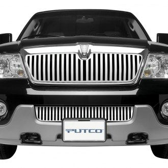 Putco® - Designer FX Series Polished Vertical Bar Punch CNC Machined Main Grille
