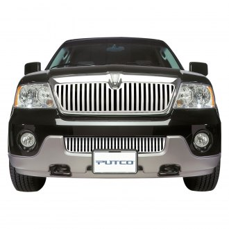 Putco® - Designer FX Series Polished Vertical Bar Punch CNC Machined Bumper Grille