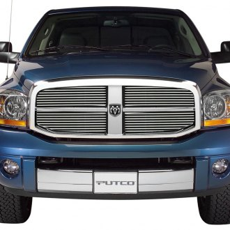 Putco® - 4-Pc Shadow Polished Horizontal Billet Main Grille