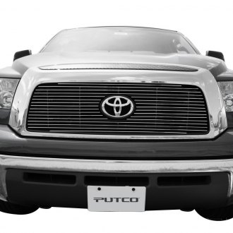 Putco® - 1-Pc Shadow Polished Horizontal Billet Main Grille