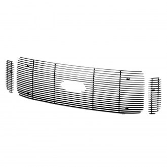 Putco® - 3-Pc Shadow Polished Horizontal Billet Main Grille