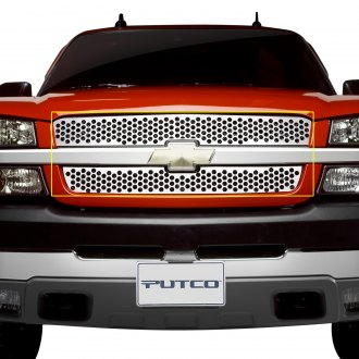 Putco® - Polished Round Punch CNC Machined Main Grille
