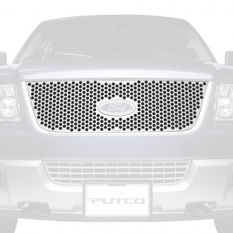 Putco® - Polished CNC Machined Grille