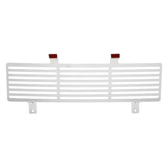 Putco® - 1-Pc Polished Bar Punch CNC Machined Bumper Grille