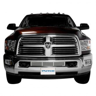 Putco® - Polished Bar Punch CNC Machined Bumper Grille