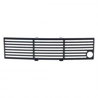 Putco® - 1-Pc EcoBoost Series Black Horizontal Bar Punch CNC Machined Grille