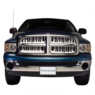 Putco® - Flaming Inferno Style Polished CNC Machined Grille