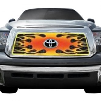 Putco® - 1-Pc 4-Color Flaming Inferno Style CNC Machined Main Grille