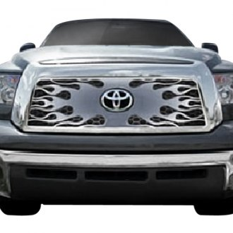 Putco® - 1-Pc Flaming Inferno Style Blue CNC Machined Main Grille