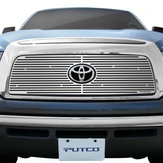 Putco® - 1-Pc Liquid Series Polished CNC Machined Main Grille