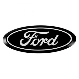 Putco® - Ford Licensed Black Grille and Tailgate Emblem Kit