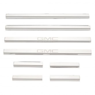 Putco® - GM Licensed Polished Door Sills with GMC Etching