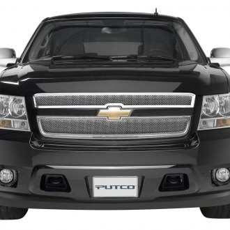 Putco® - 2-Pc Liquid Series Chrome Mesh Main Grille