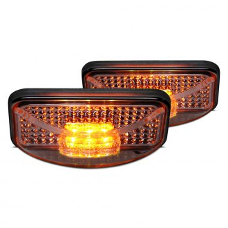 Putco® - Chrome LED Side Marker Lights