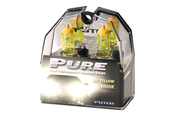 PUTCO� - Jet Yellow 3000K (Kelvin) Halogen Replacement Bulbs